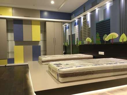 Children's bedroom : modern Nursery/kid's room by Studio Stimulus