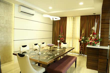 Dining room : modern Dining room by Studio Stimulus