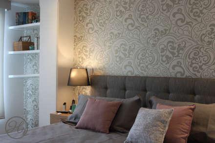 Habitacion Principal: Habitaciones de estilo moderno por Home Reface