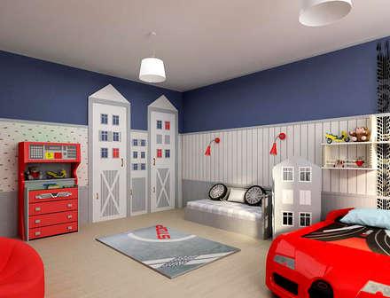 ห้องนอนเด็ก by ЙОХ architects