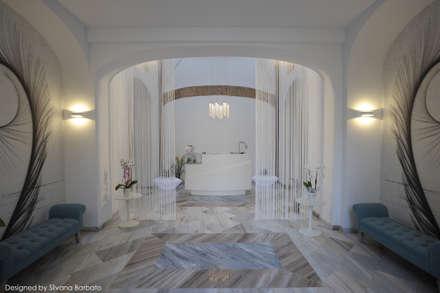 Reception: Spa in stile in stile Classico di Silvana Barbato, StudioAtelier