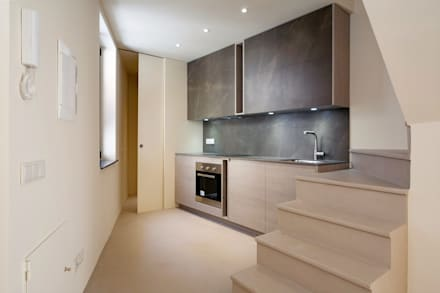 مطبخ تنفيذ Lara Pujol  |  Interiorismo & Proyectos de diseño