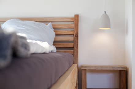 Zweite Privatwohnung Potsdam : industriale Schlafzimmer von woodboom