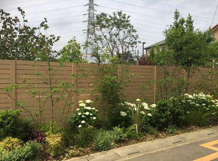 VILLA on the park: (有)ハートランドが手掛けた庭です。
