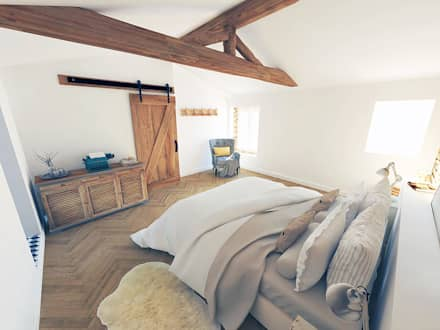 country Bedroom by La Fable