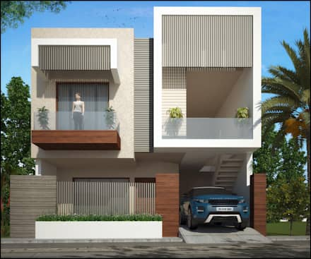 Mr. Narinder Handa : modern Houses by Pixel Works