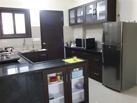 modular kitchen design   modern Kitchen by aashita modular kitchen. Kitchen design ideas  inspiration   images   homify