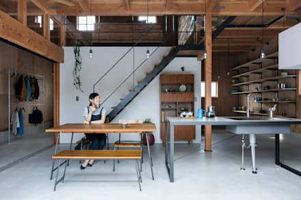 ishibe house: ALTS DESIGN OFFICEが手掛けたキッチンです。