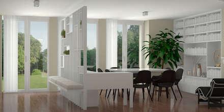 Zona giorno: Soggiorno in stile in stile Classico di Silvana Barbato, StudioAtelier
