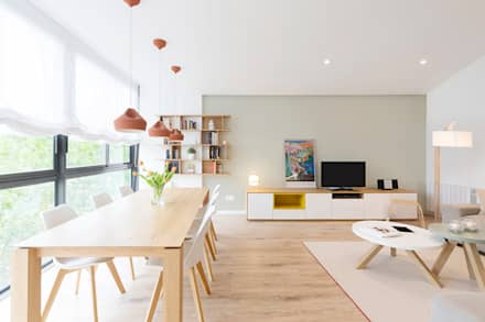 Ramon Turró: Livings de estilo escandinavo por Beivide Studio
