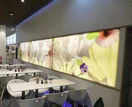 Blüten Sushi:  Gastronomie von Jens Thasler.designer-architekt