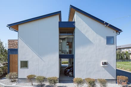 eclectic Houses by ATELIER N