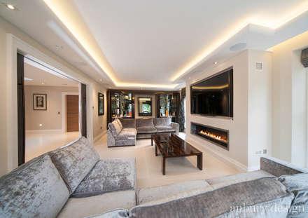 Contemporary Living: modern Living room by Aubury Design