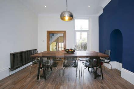 Hammersmith House: Modern Dining Room By Blankstone