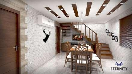 Interior design: modern Dining room by Eternity Designers