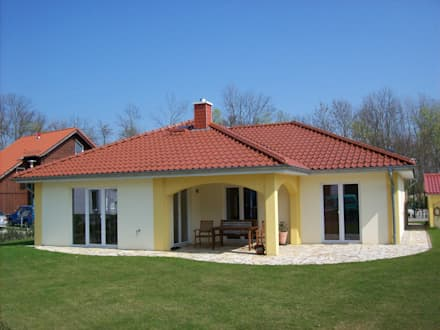 Haus Vivaldi:  Einfamilienhaus von RostoW Bau