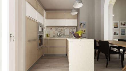 Casa SA: Cucina in stile in stile Eclettico di De Vivo Home Design