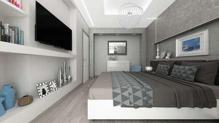 Dormitorios de estilo ecléctico por De Vivo Home Design