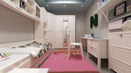 Stanza dei bambini idee immagini e decorazione homify - Muri di casa colorati ...