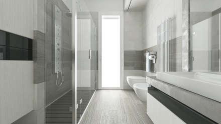 Bagno idee immagini e decorazione homify for Modelli bagno moderno