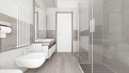 casa sa bagno in stile in stile moderno di de vivo home design