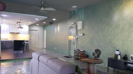 Soho: modern Corridor, hallway & stairs by Alecc Interior Design