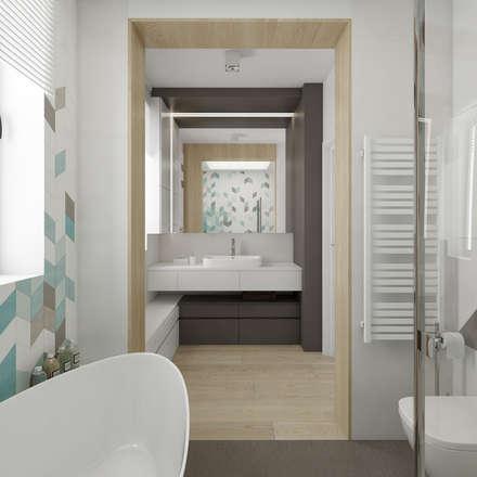 Łazienka: styl , w kategorii Łazienka zaprojektowany przez TutajConcept