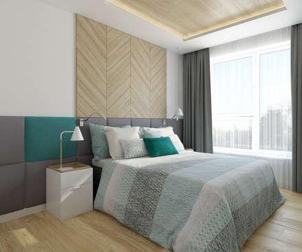 SYPIALNIA: styl , w kategorii Sypialnia zaprojektowany przez TutajConcept