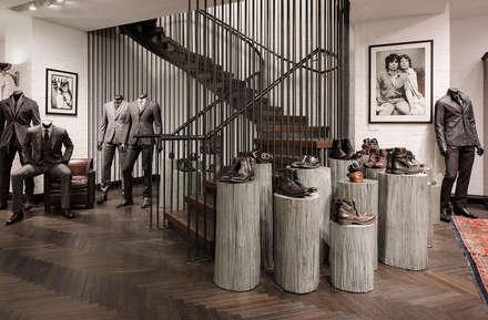 London Fashion House Project :  Walls by 3 Oak Wood Flooring