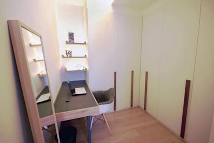 Austville Residence: scandinavian Dressing room by Eightytwo Pte Ltd