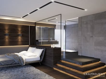 moderne schlafzimmer einrichtungsideen und bilder | homify, Schalfzimmer deko