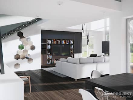 Ideen & Inspiration für moderne Wohnzimmer   homify