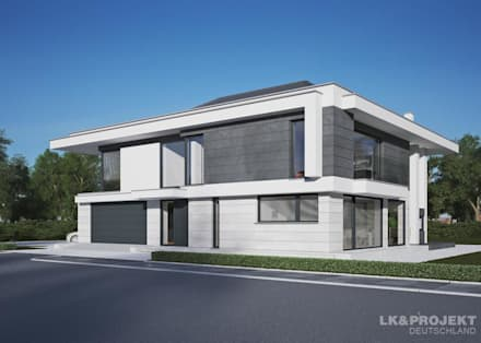 Modernes haus mit pool in deutschland  Moderne Häuser - Architektur, Design Ideen & Bilder | homify