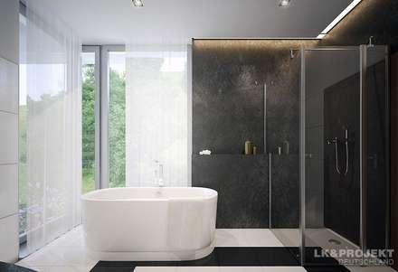 Dieses Architektenhaus ist einfach mal anders..: moderne Badezimmer von LK&Projekt GmbH