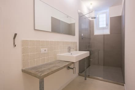 mediterranean Bathroom by mc2 architettura