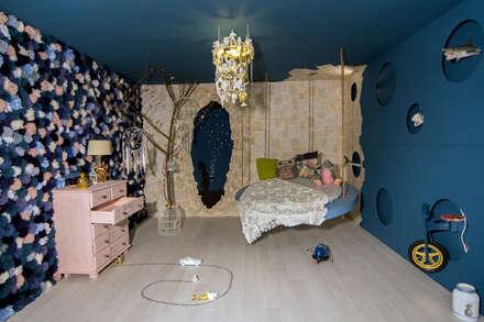 Owl City - Fireflies: eclectische Kinderkamer door Nimeto Utrecht