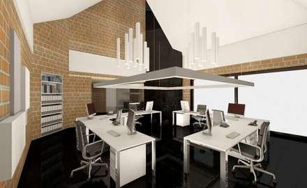 Planungsbilder: moderne Arbeitszimmer von Design Manufaktur GmbH