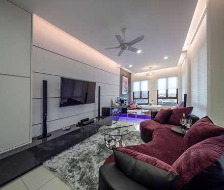 minimalistic Media room by Design Spirits