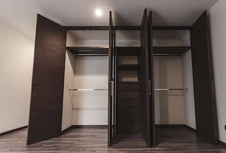 Vestidores y closets modernos ideas homify for Closet para habitaciones