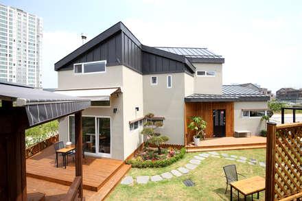 전주 만성동 안을채 주택 - 5-star(목조건축품질인증) 인증 : 꿈꾸는목수의  주택