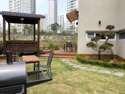 전주 만성동 안을채 주택 - 5-star(목조건축품질인증) 인증 : 꿈꾸는목수의  정원