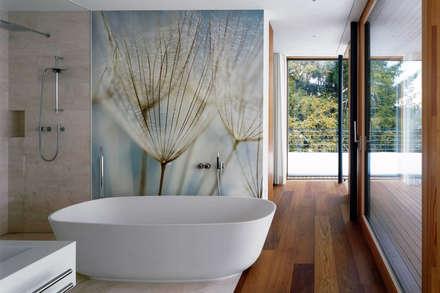 Dandelions: modern Bathroom by Pixers