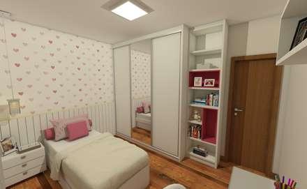 modern Nursery/kid's room by Luana Alvarenga - Arquitetura e Interiores