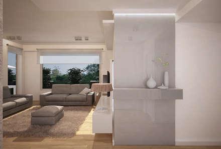 Ingresso - proposta 3: Ingresso & Corridoio in stile  di Studio Atelier di Silvana Barbato