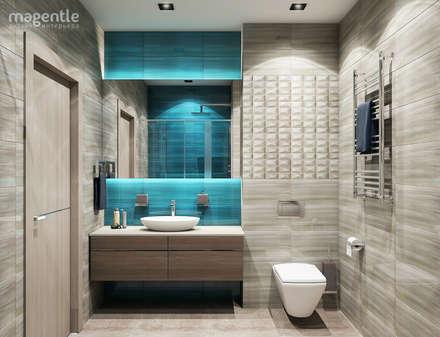 Lagoon: Ванные комнаты в . Автор – MAGENTLE