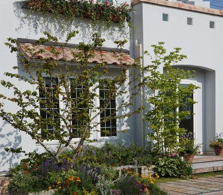 GARDEN: (有)ハートランドが手掛けた家です。