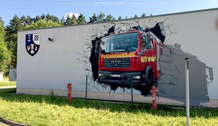 Car Dealerships by  Wandgestaltung Graffiti Airbrush von Appolloart