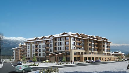WHITE FIR VALLEY BANSKO: Гостиницы в . Автор – eNArch