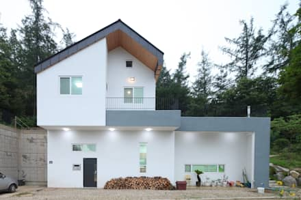 도곡리 주택: 위드하임의  주택