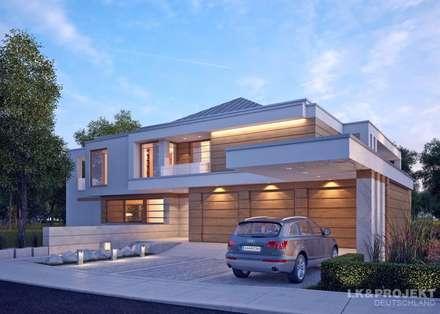 LK&1231: moderne Häuser von LK&Projekt GmbH